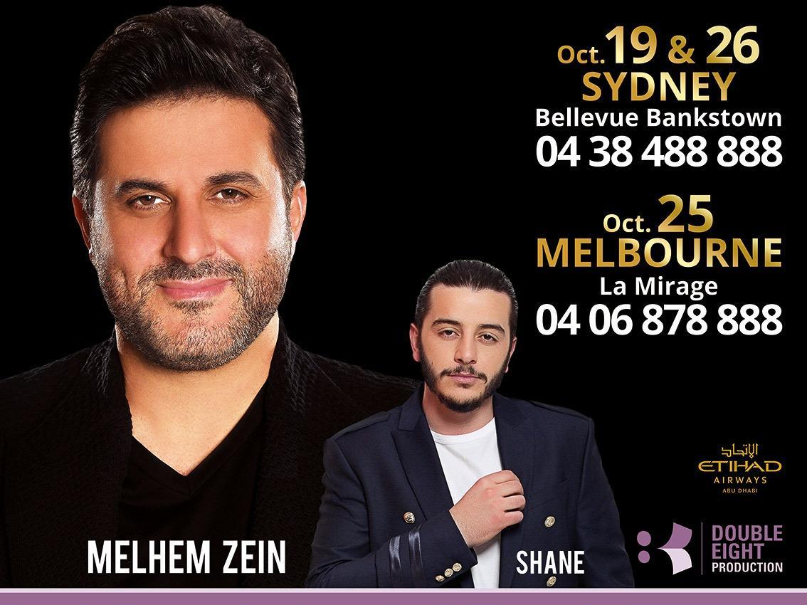 Melhem Zein Australia Tour 2019