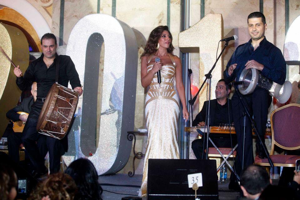 Najwa Karam , Fares Karam & Assi Hallani NY 2012
