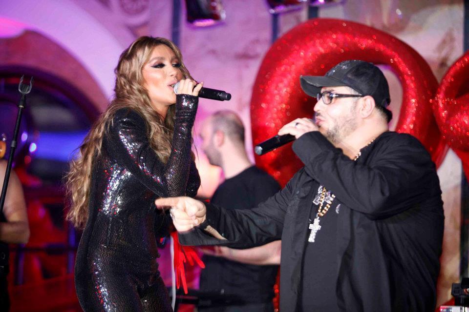 Wael kfoury & Maya Diab Valentine 2012