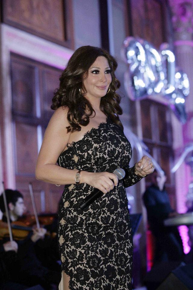 Elissa , Wael kfoury & Fadel Shaker NY 2012